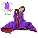 Cheap Lightweight Sleeping Bag Cold Weather Wearable Sleeping Bags for Adults Camping Traveling Office Indoor Outdoor 3-Season Waterproof
