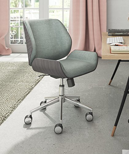 ELLE Décor Ophelia Bentwood Task Chair, French Gray