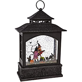 RAZ Imports Witch Lighted Water Lantern 11