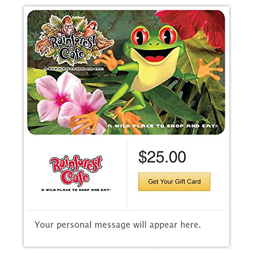 (Rainforest Cafe - E-mail Delivery)