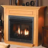 Standard Cabinet Mantel EMF22W with Base - White