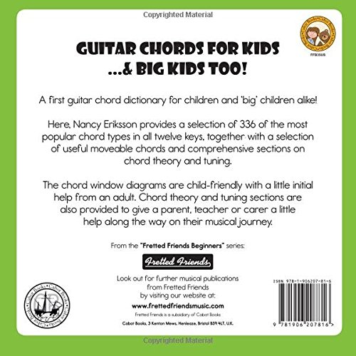 Guitar Chords for Kids...& Big Kids Too! (Fretted Friends Beginners ...