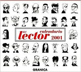 Calendario 2001.Calendario 2001 Del Lector 9788475778143 Amazon Com Books