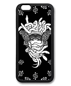 Crooks and Castles Custom Personalized Design DIY Back Case for iPhone 6 4.7 Black -406