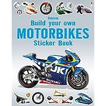 Build Your Own Motorbikes Sticker Book