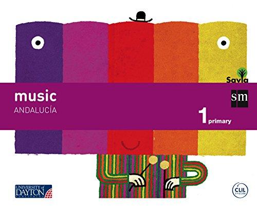 Descargar Libro Music. 1 Primary. Savia. Andalucía Carmen Gil