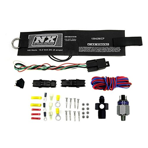 Nitrous Express 15938 D-4 4 Amp 2-2.5 lbs. Motorcycle Fully Automatic Bottle Heater