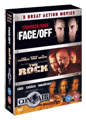 Face Off/the Rock/Con Air [Import anglais]