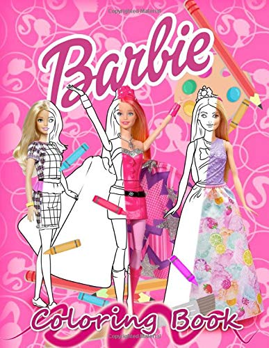 Barbie Coloring Book: Jumbo Coloring Book for Kids and All Barbie Fans