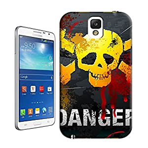 Skull Danger By Z-Design Beautiful Personality& Creative TPU Hard Case Cover for Samsung Galaxy NOTE 3