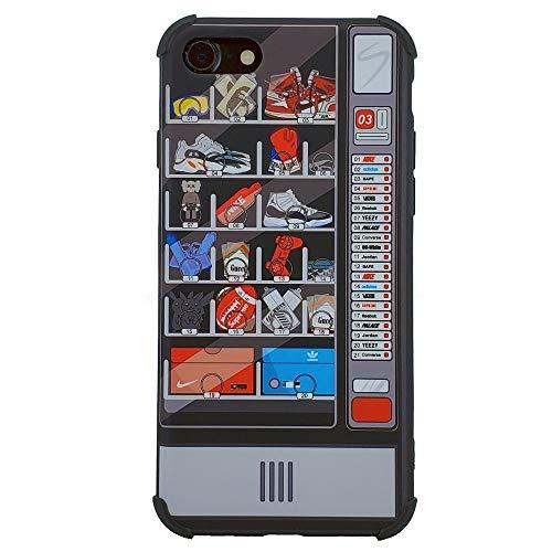 (Sneakerhead Vending Machine - TPU Flexible Plastic Protective Case/Cover/Skin/Bumper for iPhone ... (iPhone 7/8))