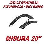 """5120OCDDr3L. SS150 COPPIA PARAFANGHI per GRAZIELLA - PIEGHEVOLE misura 20"""" in PVC resistente"""