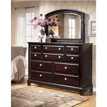 Amazoncom Harmony Dresser in Dark Brown Finish Kitchen Dining