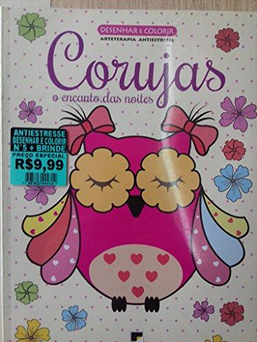 Promoção 2 Livros de Colorir antiestresse - Corujas e Jardim das Mandalas