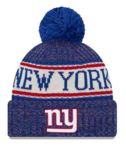 ee3a2513248 New Era NY Giants NFL 18 Sideline Sport Knit Hat Red White Blue Size