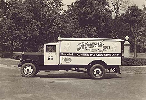 Buyenlarge Keener Meat Truck #2 - Gallery Wrapped 28