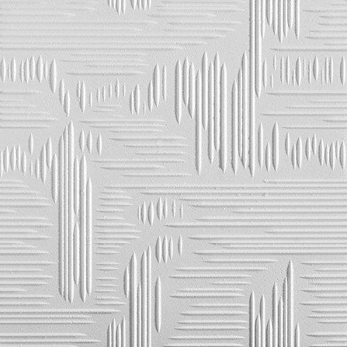 tilestyl tpdzpardy paneles para techo de poliestireno, blanco, Juego de 16 piezas Juego de 16piezas Bovelacci