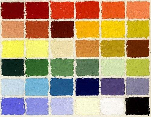 Jack Richeson Unison Pastel Starter Colors, Set of 36 by Jack Richeson