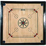 "Carrom Board 25"" with Coins, Striker & Powder Playset"