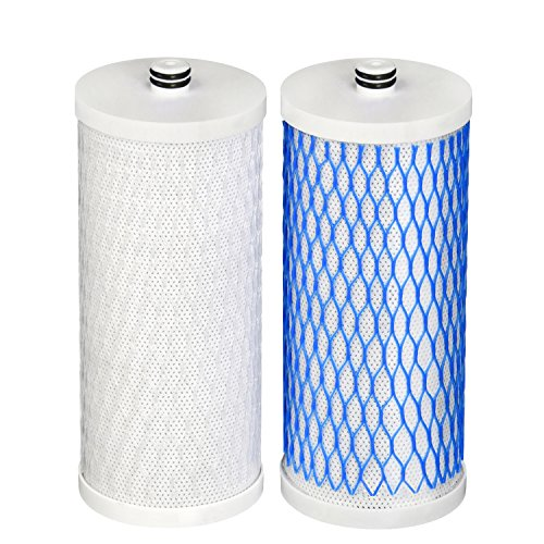 Waterdrop Undersink Water Filter, Compatible with AQ 4035 AQ 4025 Will Fit Drinking Water Systems, Pack of - Aq Water Drinking 4000