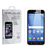 Ultra Slim 0.3mm Tempered Glass Screen Protector For Samsung Galaxy J3 J3(6) 2016 by REBELGLAS®