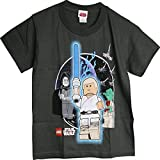 LEGO Star Wars Luke Skywalker Yoda Emperor Youth Boy's T-Shirt 5/6