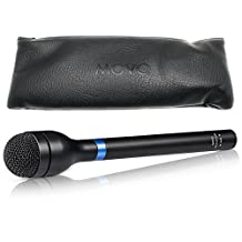 Movo HM-M2 Dynamic Omnidirectional Handheld XLR Reporter / Interview / Presentation Microphone