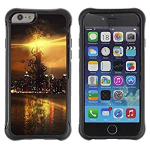 Suave TPU GEL Carcasa Funda Silicona Blando Estuche Caso de protección (para) Apple Iphone 6 PLUS 5.5 / CECELL Phone case / / Sunset Beautiful Nature 106 /