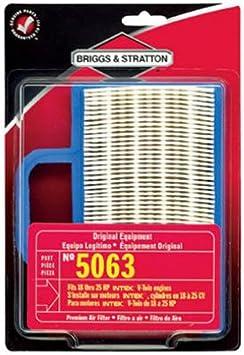 BRIGGS /& STRATTON AIR FILTER 499486S GENUINE 14-24hp INTEK