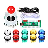 Arcade Buttons EG STARTS 1 Player DIY Kit Joystick