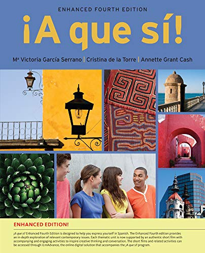 A que si!, Enhanced (with iLrn Advance Printed Access Card) (World Languages) (Victoria Gardens Com)