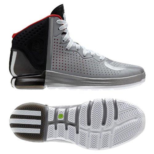 Adidas Derrick Rose 4 Adiprene G67398 Aluminum White Black Men