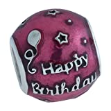 Pandora Women's 791983EN117 Birthday Celebration Charm