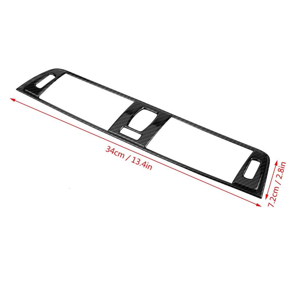 Klimaanlage L/üftungsblende Carbon Style ABS Konsole L/üftungsblende f/ür 3er Serie F30 2013-2018
