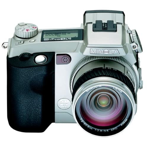 Minolta Dimage 7i 5MP Digital Camera w/7x Optical Zoom