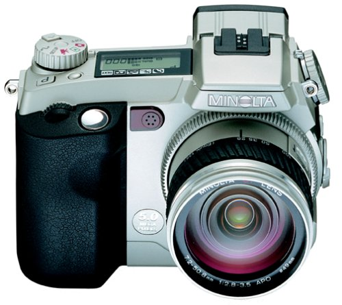Minolta Dimage 7i  5MP Digital Camera w/ 7x Optical Zoom
