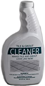 Kirby 245213S Tile & Grout Cleaner 32 oz, Clear/White