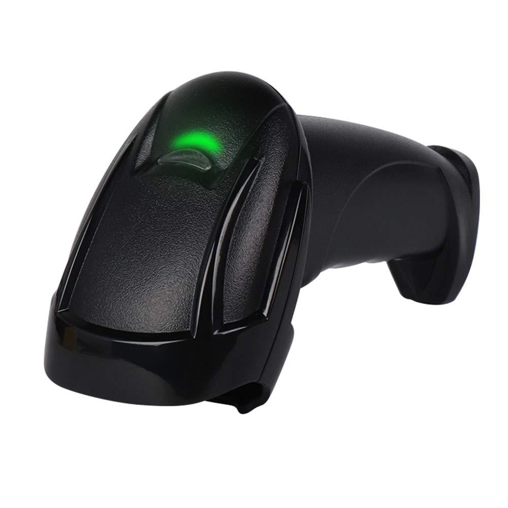 USB Wired Barcode Scanner 1D Laser Scanning MUNBYN Automatic Bar Code Reader Handheld Barcode Scanner for Windows Mac System