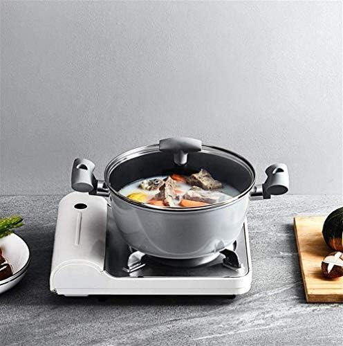 HSWJ Pan 24cm Induction cuisinière à gaz de marmite antiadhésive cuisinière marmite Universelle Pot de Lait Chaud