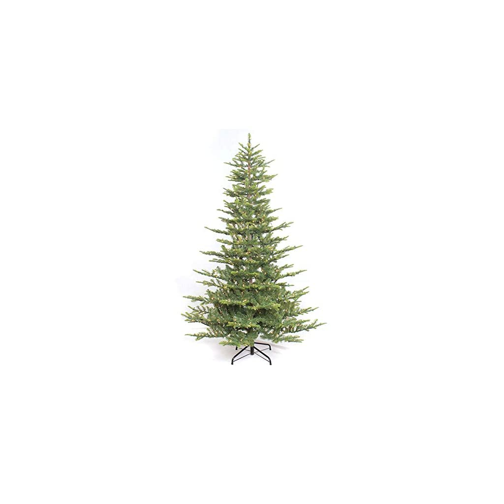 Puleo-International-65-Foot-Pre-Lit-Aspen-Green-Fir-500-UL-Clear-Lights-Artificial-Christmas-Tree-Ft