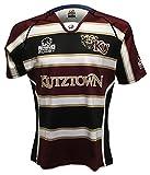 Rhino Rugby Kutztown Golden Bears Replica Home Jersey, Medium, Black