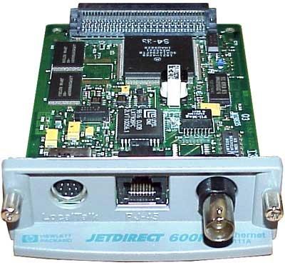 Server Print Card - HP JetDirect 600N J3111A J3111 EIO Print Server NIC Card