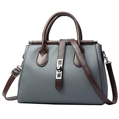 Bsjmlxg Women's Fashion Casual Joker Large Capacity College Handbag Work Zipper Shoulder Bag Purse and Tote Crossbody