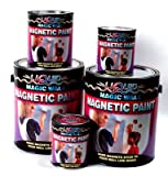 Dowling Magnets Magic Wall Magnetic Paint, 1-Pint