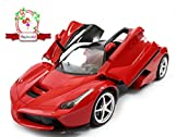 Magicwand 1:16 Scale Rechargeable Remote Control LED Ferrari Toy Car -Red