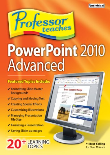 Professor Teaches PowerPoint 2010 Advanced  [Download]