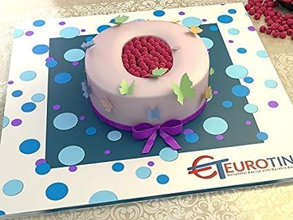 10 ALPHABET S BIRTHDAY WEDDING ANIVERSARY CAKE TIN by The Cakes World