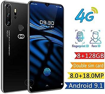 4G Smartphone Móvil 6 GB + 128 GB, 6.5