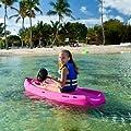 Lifetime, 6', 1-Man Wave, Youth Kayak, with Bonus Paddle, Pink Color
