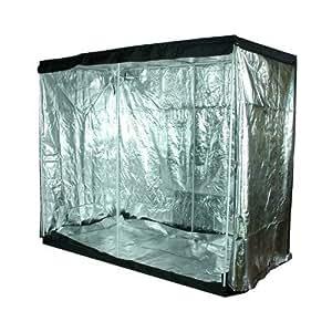 LEDwholesalers GYO1012 120-Inch x 78-Inch x 60-Inch Mylar Reflective Hydroponic Grow Tent